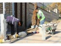 Safranbolu'da belediye çalışmaları sürüyor