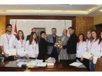 MAÜ öğrencilerinden birincilik ödülü