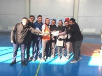 Hisarcık'ta 'Öğretmenler Günü' Futsal şampiyonu 15 Temmuz Şehitleri Anadolu Lisesi