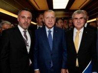 Başkan Yüce Cumhurbaşkanı Erdoğan ile vergi iadelerini görüştü