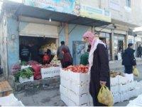Tel Abyad sokaklarında tezgahlar kuruluyor