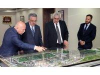AK Parti Genel Başkan Yardımcısı Yazıcı'dan Büyükşehir'e ziyaret