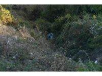 Türkeli'de otomobil dereye uçtu: 1 yaralı