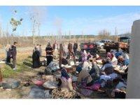 Emet'in Sarıayak köyünde gözleme hayrı ve yağmur duası