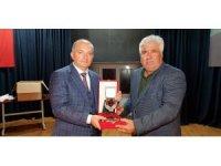 Kızılay'ın kan bağışçıları madalyayla onurlandırıldı