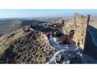 Zerzevan Kalesi bu yıl ziyaretçi rekoru kırdı