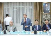 Mardin Milli Eğitim Müdürü Sarı onuruna veda yemeği