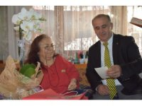 Başkan Kaya'dan emekli öğretmenlere ziyaret