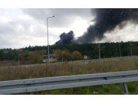 Çekmeköy'de askeri alanda orman yangını