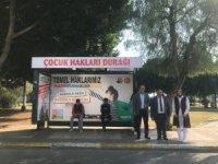 Mersin'de 'çocuk hakları durağı' hayata geçti