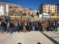 Hozat'ta 3 bin 500 ceviz ve dut  fidanı dağıtıldı