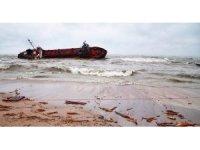 Odessa'da gemi karaya oturdu