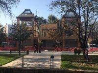 Belediyenin kaçak inşaatı mühürlendi