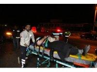 Kula'da trafik kazası: 2'si ağır 4 yaralı