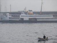 İstanbul'da hava koşulları nedeniyle bazı vapur seferleri iptal