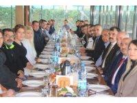 MHP Edremit İlçe Teşkilatı basın ile bir araya geldi