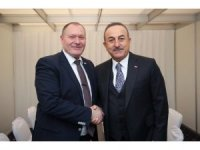Çavuşoğlu, Interpol Genel Sekreteri Stock ile görüştü