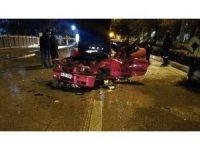 Otomobil vidanjöre çarptı: 1 ölü
