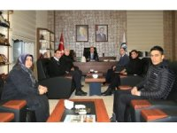 Sendika yöneticilerinden Rektör Coşkun'a ziyaret