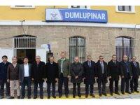 TCDD Trafik Daire Başkanı Abdullah Özcanlı Dumlupınar'ı ziyaret etti