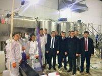 Vali Tavlı, Yenice Mesleki ve Teknik Anadolu Lisesini ziyaret etti