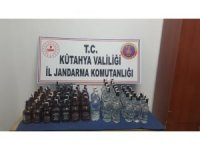 Simav'da kaçak içki operasyonu