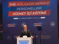 """Bakan Soylu: """"112'ye asılsız ihbar yapana 250 lira ceza"""""""