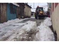 Bingöl'de karla mücadele