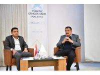 Başkan Gürkan, milli ve manevi değerleri bilen gençlik önerdi