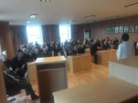 Muhtarlara denetimli serbestlik bilgilendirme semineri