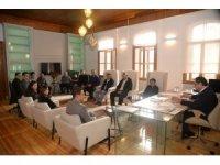 Başkan Şahin belediyedeki mühendislerle bir araya geldi