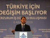 Albayrak: Türkiye ekonomisinin potansiyelini daha da ileriye taşıma zamanı