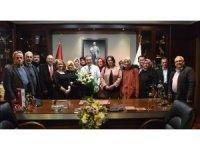 CHP Mihalgazi Teşkilatı Ataç'ı ziyaret etti