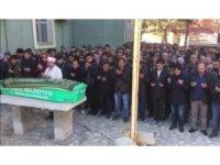 Soba yakarken yanlışlıkla alev alan adamın cenazesi toprağa verildi