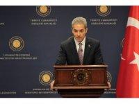 """Dışişleri Bakanlığı Sözcüsü Aksoy: """"Güvenli bölge teröristlerden temizlenene kadar Suriye'den çıkmayacağız"""""""
