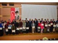 """Elazığ'da """"Duyarlı Çocuklarla Güvenli Gelecek"""" projesi ödül töreni"""