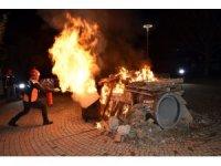 Beşiktaş'ta aksiyon filmlerini aratmayan tatbikat