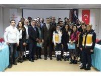 Barış Pınarı Harekatında görev yapan sağlık personellerine başarı belgesi verildi