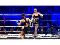 Tokat'ta nefesleri kesen kick boks gecesi