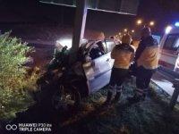 Deniz astsubay otobandaki trafik kazasında hayatını kaybetti