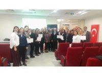 'Sağlıklı Gelecekler için Ebe Eğitici Eğitimi' projesi tamamlandı