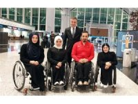 Türkiye Paralimpik Atletizm Milli Takımı Umre'ye gitti