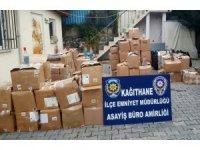 Kağıthane'de kaçak alkol satışı yapanlara operasyon: 2 gözaltı