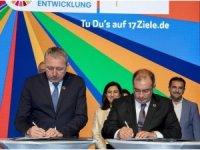 Toplum ve Kurs Merkezinin yapım protokolü imzalandı