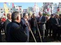 Mezitli'deki 54. koruluk, kent merkezinde oluşturuldu