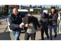 Bonzai ile yakalanan 5 kişi gözaltına alındı