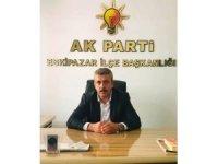AK Parti Eskipazar İlçe Başkanı İsmail Palaz görevinden istifa etti
