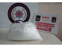 Niğde'de uyuşturucu operasyonu: 2 gözaltı