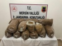 Mersin'de 75 kilo bandrolsüz tütün ele geçirildi