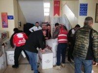 ANDA Kardeşe Vefa ve ODTÜ-BİR Derneğinden Suriye'ye yardım
